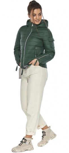 """Фирменная куртка женская на весну нефритовая модель 62574 Braggart """"Angel's Fluff"""" фото 1"""