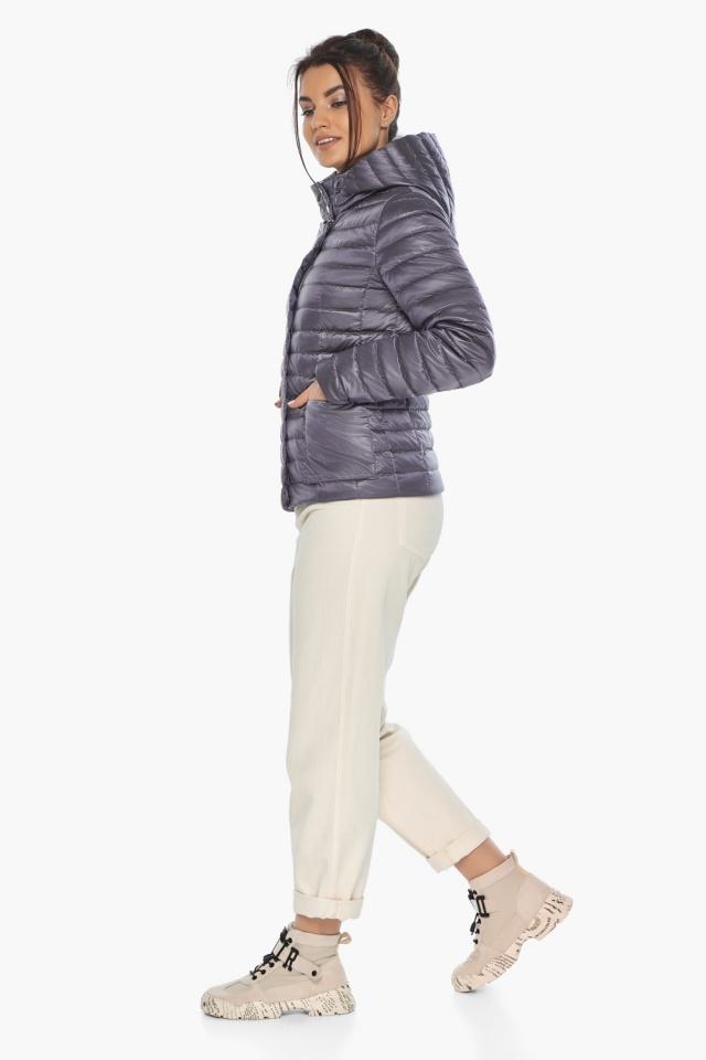 """Осенне-весенняя лавандовая куртка женская брендовая модель 67510 Braggart """"Angel's Fluff"""" фото 2"""