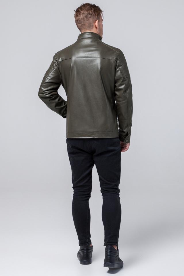 """Куртка из искусственной кожи цвет хаки модель 2612 Braggart """"Youth"""" фото 5"""