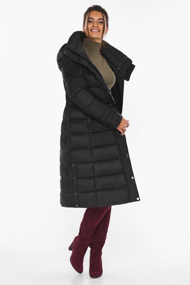 """Куртка женская тёплая цвет чёрный модель 43110 Braggart """"Angel's Fluff"""" фото 4"""