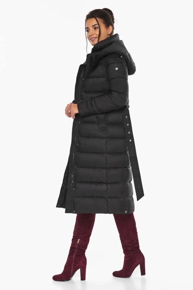 """Куртка женская тёплая цвет чёрный модель 43110 Braggart """"Angel's Fluff"""" фото 8"""