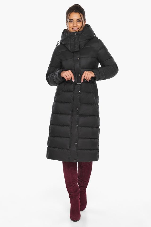 """Куртка женская тёплая цвет чёрный модель 43110 Braggart """"Angel's Fluff"""" фото 7"""