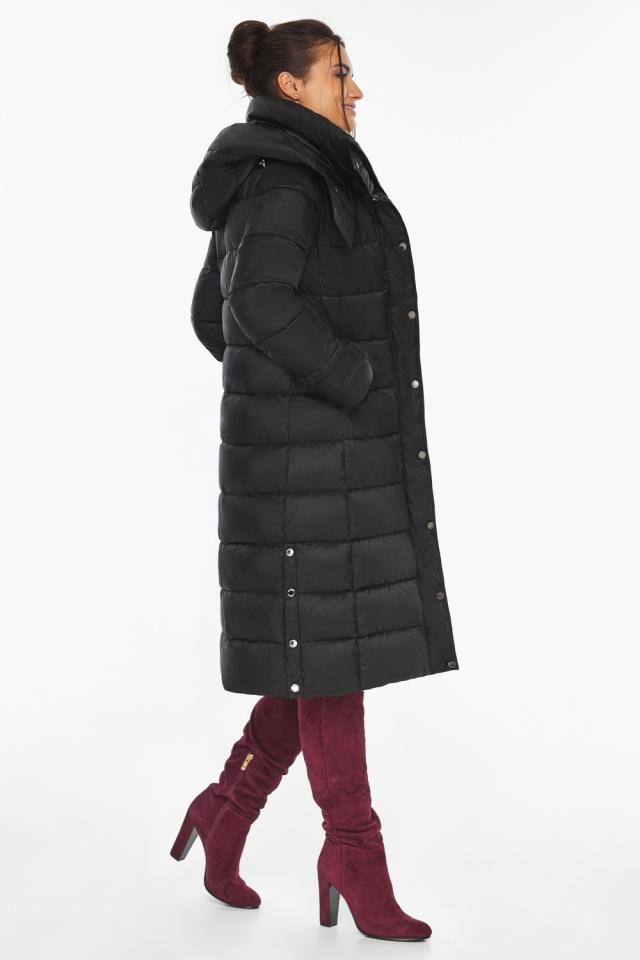 """Куртка женская тёплая цвет чёрный модель 43110 Braggart """"Angel's Fluff"""" фото 6"""
