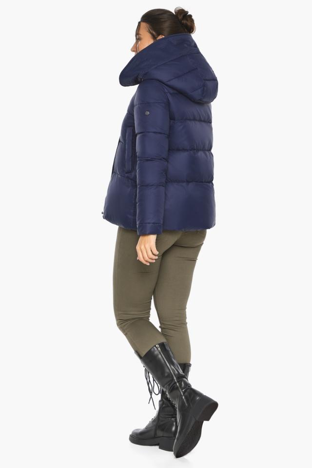 """Куртка синя коротка жіноча модель 43560 Braggart """"Angel's Fluff"""" фото 7"""