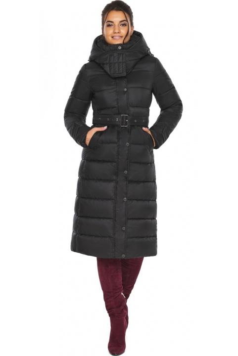 """Куртка женская тёплая цвет чёрный модель 43110 Braggart """"Angel's Fluff"""" фото 1"""