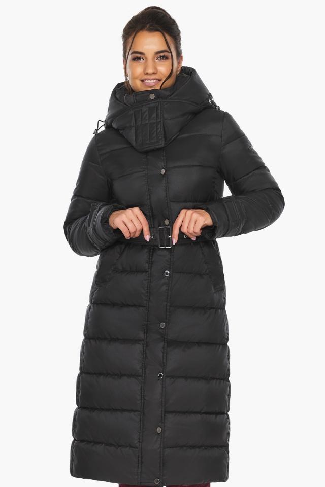 """Куртка женская тёплая цвет чёрный модель 43110 Braggart """"Angel's Fluff"""" фото 5"""