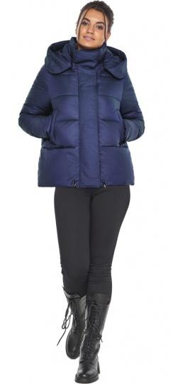 """Куртка синяя короткая женская модель 43560 Braggart """"Angel's Fluff"""" фото 1"""