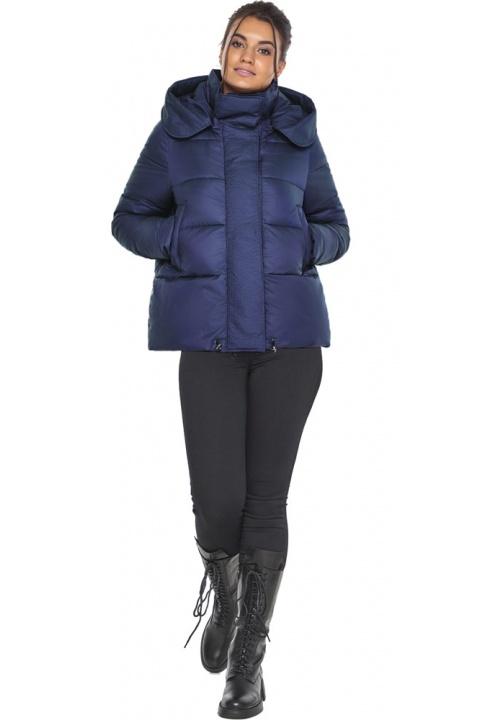 """Куртка синя коротка жіноча модель 43560 Braggart """"Angel's Fluff"""" фото 1"""