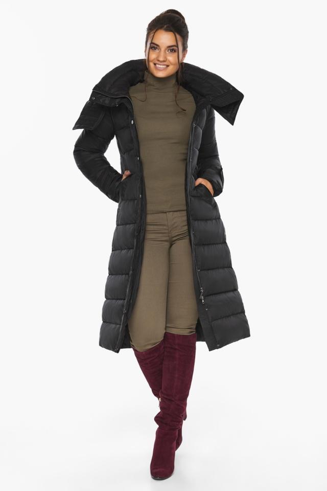 """Куртка женская тёплая цвет чёрный модель 43110 Braggart """"Angel's Fluff"""" фото 3"""