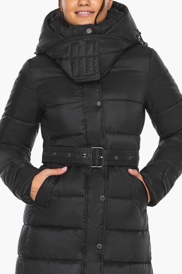 """Куртка женская тёплая цвет чёрный модель 43110 Braggart """"Angel's Fluff"""" фото 10"""