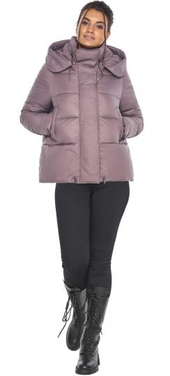 """Пудровая куртка с ветрозащитной планкой женская модель 43560 Braggart """"Angel's Fluff"""" фото 1"""