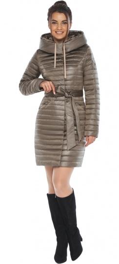 """Трендовая куртка женская капучиновая модель 66870 Braggart """"Angel's Fluff"""" фото 1"""