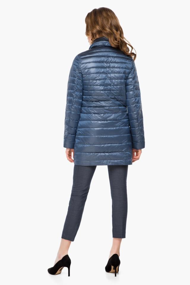"""Куртка осенне-весенняя женская цвет ниагара модель 41323 Braggart """"Angel's Fluff"""" фото 5"""