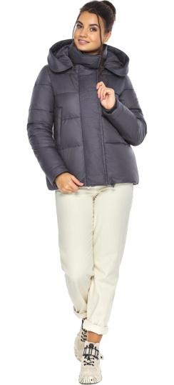"""Перлинно-сіра куртка жіноча з капюшоном модель 43560 Braggart """"Angel's Fluff"""" фото 1"""