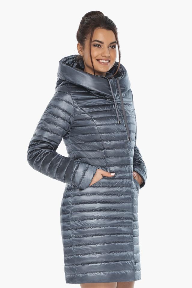 """Куртка люксовая женская цвет маренго модель 66870 Braggart """"Angel's Fluff"""" фото 4"""