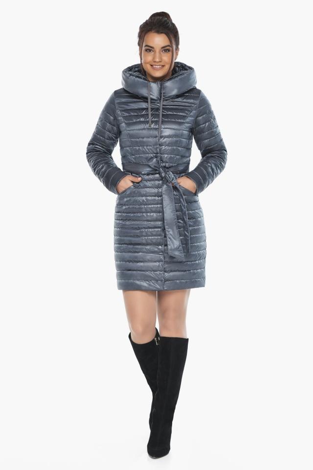"""Куртка люксовая женская цвет маренго модель 66870 Braggart """"Angel's Fluff"""" фото 3"""