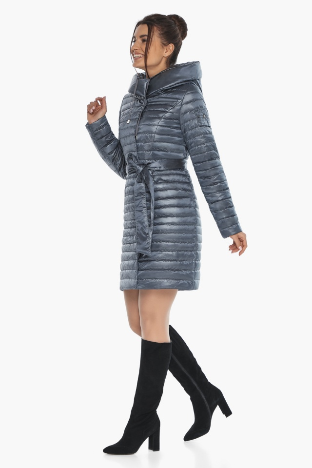 """Куртка люксовая женская цвет маренго модель 66870 Braggart """"Angel's Fluff"""" фото 5"""