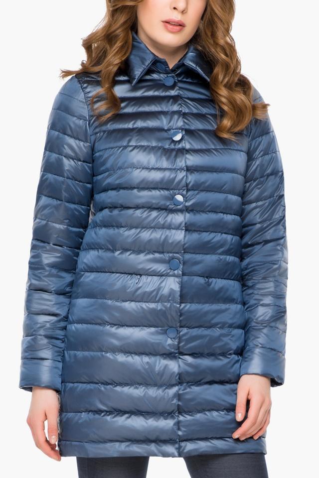 """Куртка осенне-весенняя женская цвет ниагара модель 41323 Braggart """"Angel's Fluff"""" фото 6"""