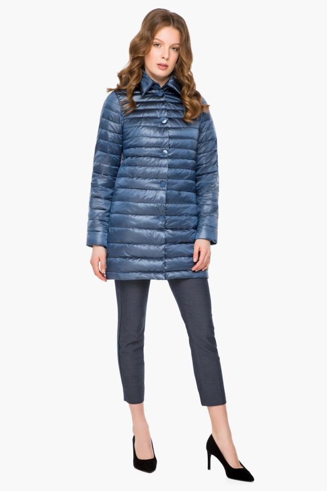"""Куртка осенне-весенняя женская цвет ниагара модель 41323 Braggart """"Angel's Fluff"""" фото 2"""