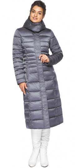 """Женская куртка теплая цвет жемчужно-серый модель 43575 Braggart """"Angel's Fluff"""" фото 1"""