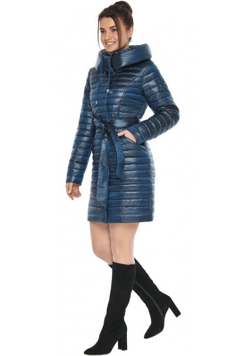"""Куртка жіноча модна колір ніагара модель 66870 Braggart """"Angel's Fluff"""" фото 1"""