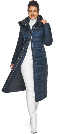 """Сапфировая куртка женская комфортная модель 43575 Braggart """"Angel's Fluff"""" фото 1"""