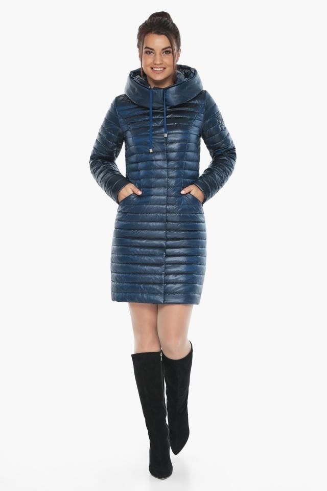 """Куртка женская модная цвет ниагара модель 66870 Braggart """"Angel's Fluff"""" фото 3"""