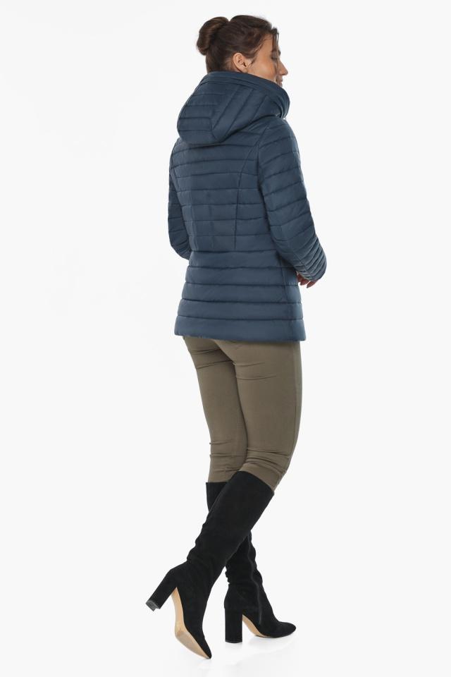 """Синяя стильная куртка осенне-весенняя женская модель 63045 Braggart """"Angel's Fluff"""" фото 7"""