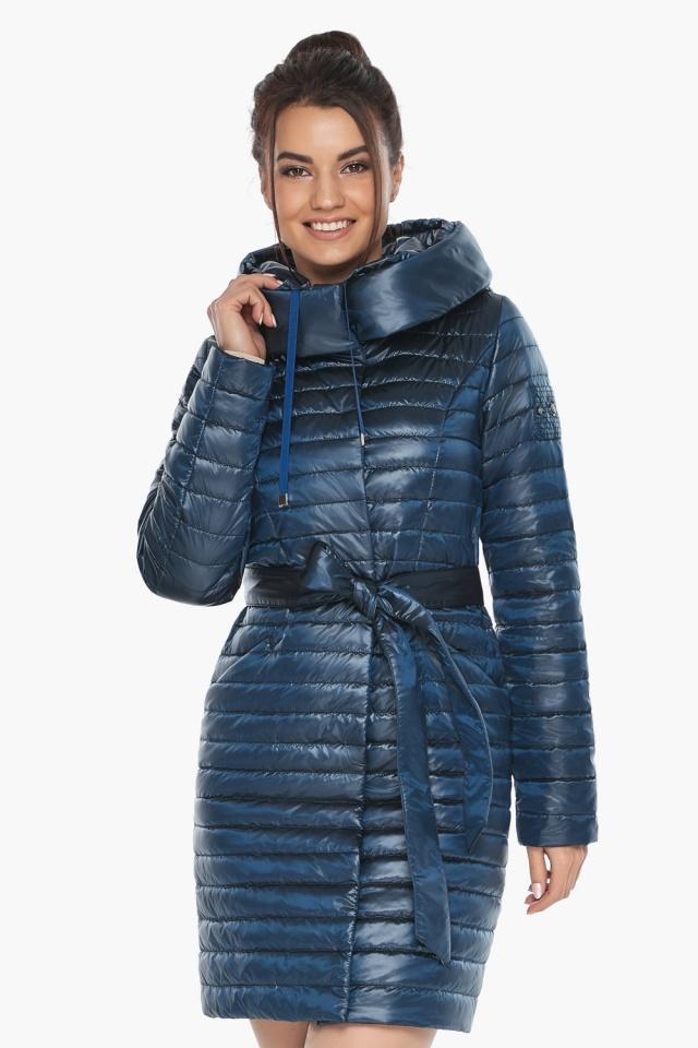 """Куртка женская модная цвет ниагара модель 66870 Braggart """"Angel's Fluff"""" фото 4"""