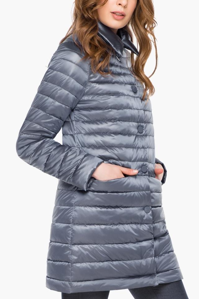 """Куртка женская цвет маренго осенне-весенняя модель 41323 Braggart """"Angel's Fluff"""" фото 6"""