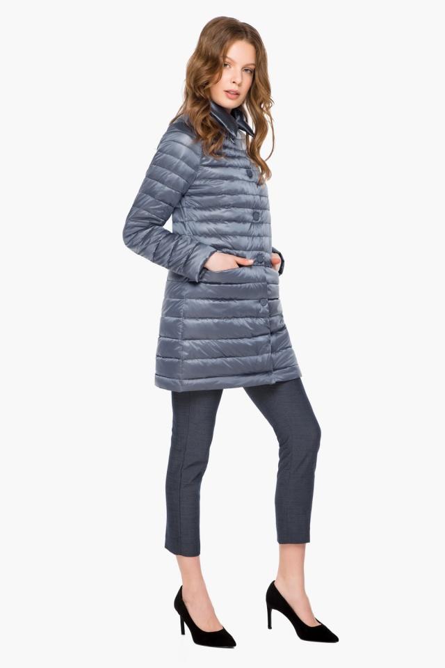 """Куртка женская цвет маренго осенне-весенняя модель 41323 Braggart """"Angel's Fluff"""" фото 2"""