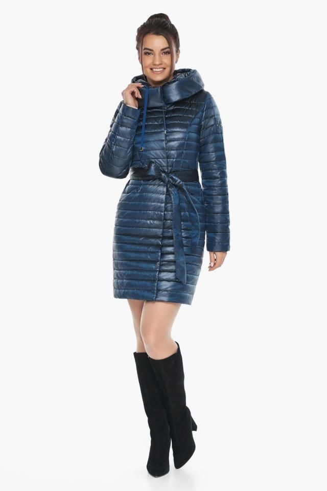 """Куртка женская модная цвет ниагара модель 66870 Braggart """"Angel's Fluff"""" фото 6"""