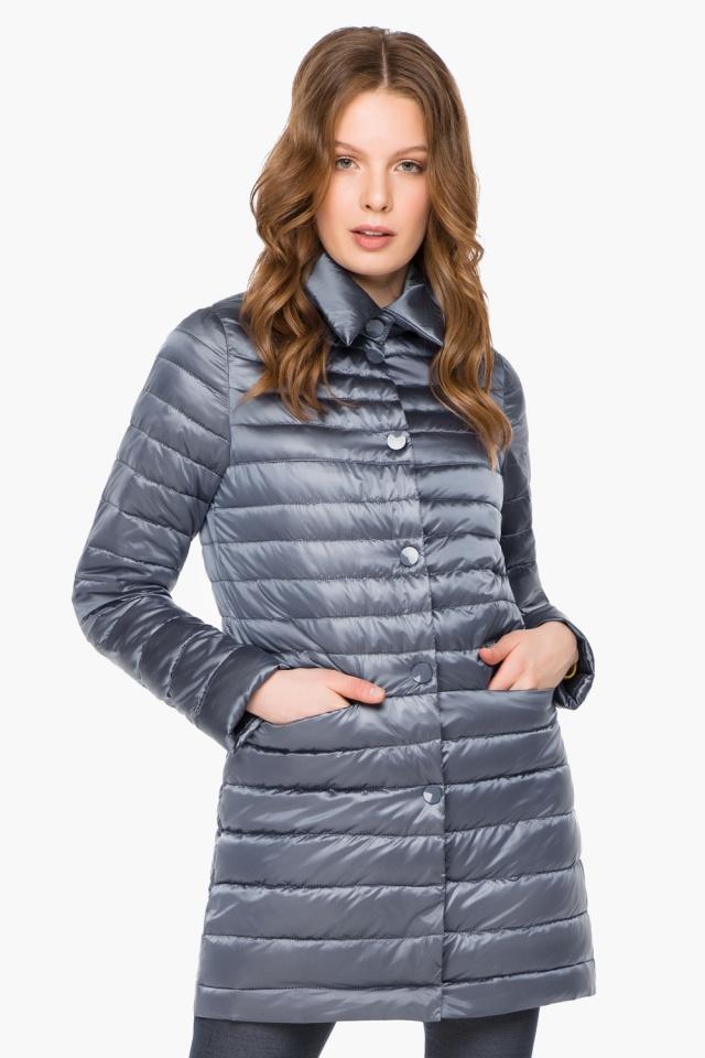 """Куртка женская цвет маренго осенне-весенняя модель 41323 Braggart """"Angel's Fluff"""" фото 3"""