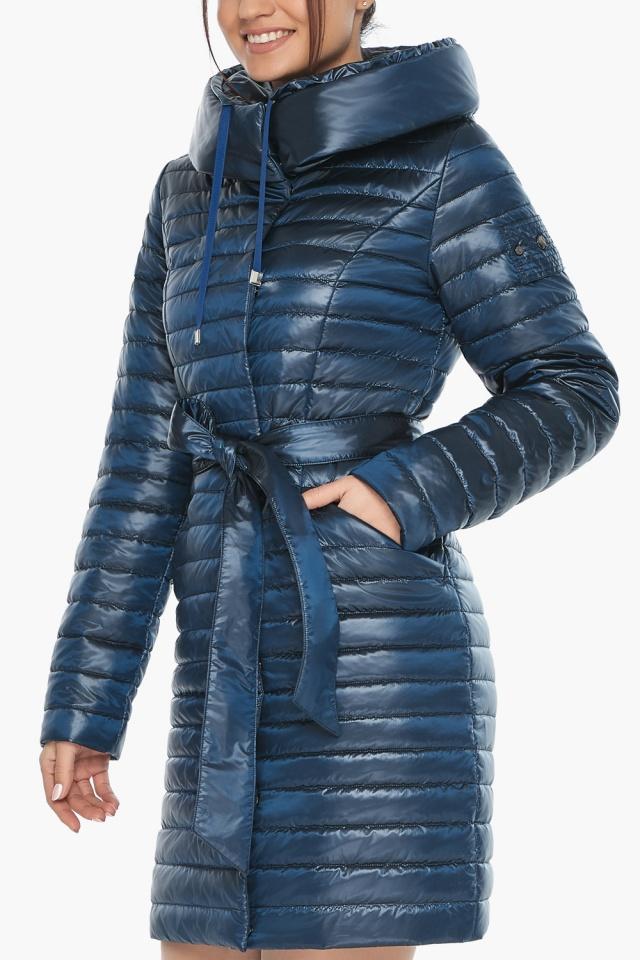 """Куртка женская модная цвет ниагара модель 66870 Braggart """"Angel's Fluff"""" фото 8"""