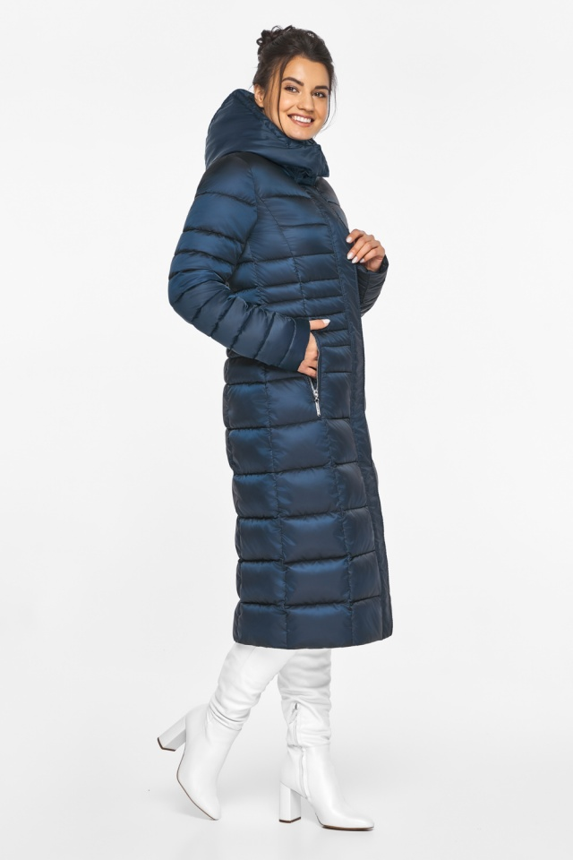 """Сапфировая куртка женская комфортная модель 43575 Braggart """"Angel's Fluff"""" фото 5"""