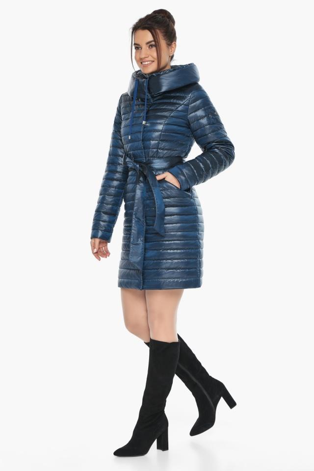 """Куртка женская модная цвет ниагара модель 66870 Braggart """"Angel's Fluff"""" фото 2"""