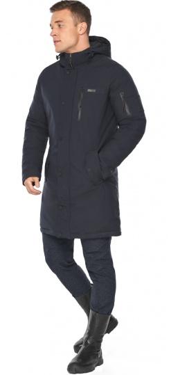 """Куртка – воздуховик тёмно-синий зимний для мужчин модель 38012 Braggart """"Angel's Fluff Man"""" фото 1"""