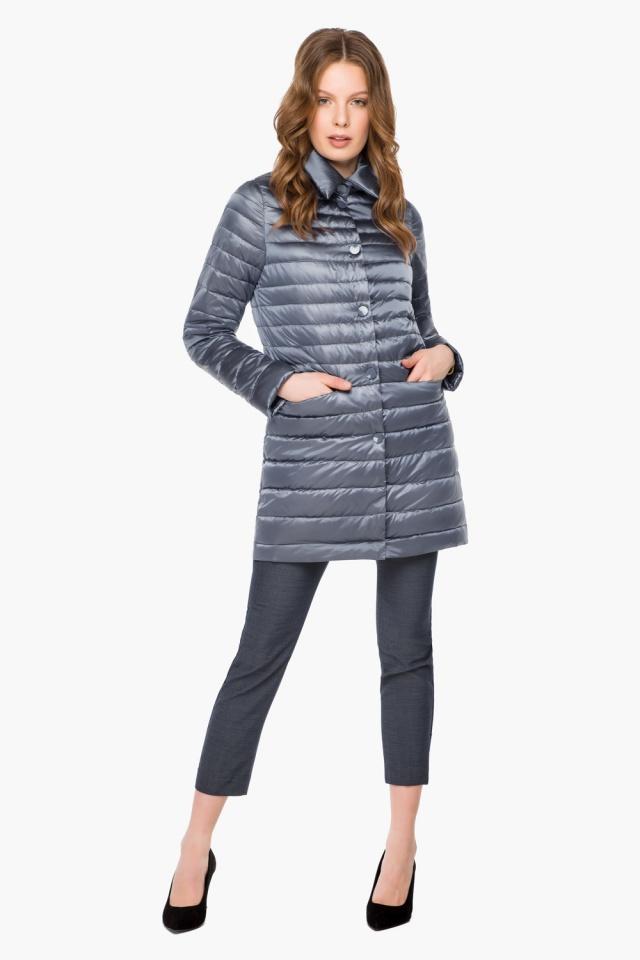 """Куртка женская цвет маренго осенне-весенняя модель 41323 Braggart """"Angel's Fluff"""" фото 4"""