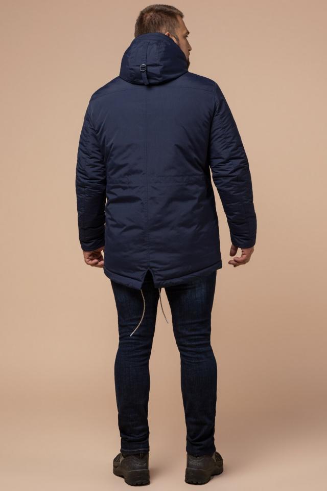 """Парка синяя мужская зимняя брендовая модель 43015 Braggart """"Arctic"""" фото 5"""