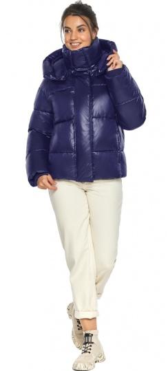 """Куртка с капюшоном женская синяя модель 44210 Braggart """"Angel's Fluff"""" фото 1"""