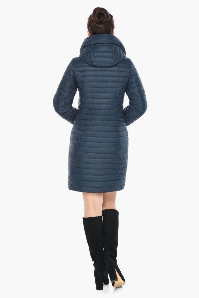 """Практичная куртка женская синяя модель 66870 Braggart """"Angel's Fluff"""" фото 8"""