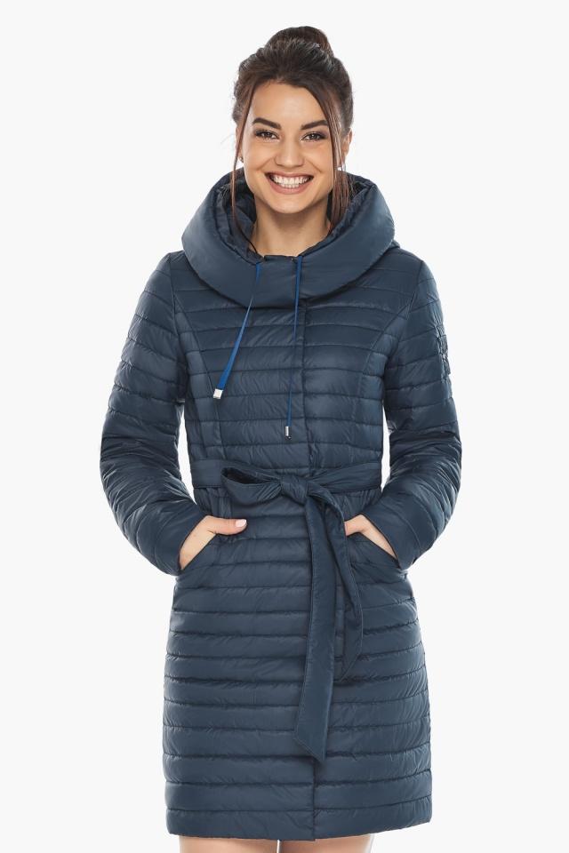 """Практичная куртка женская синяя модель 66870 Braggart """"Angel's Fluff"""" фото 3"""