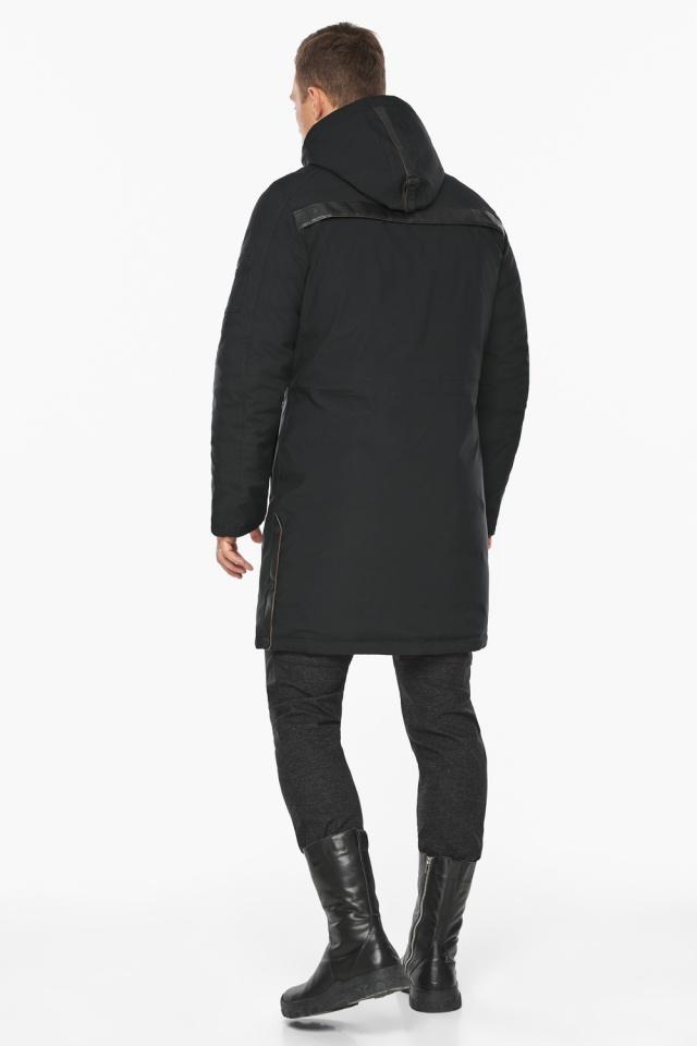 """Куртка – воздуховик зимний мужской черный модель 38012 Braggart """"Angel's Fluff Man"""" фото 7"""