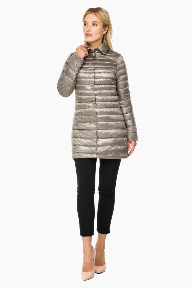 Кварцевая куртка осенне-весенняя женская модель 41323