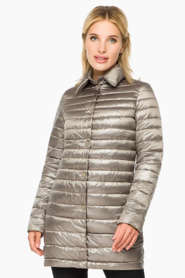 """Кварцевая куртка осенне-весенняя женская модель 41323 Braggart """"Angel's Fluff"""" фото 3"""