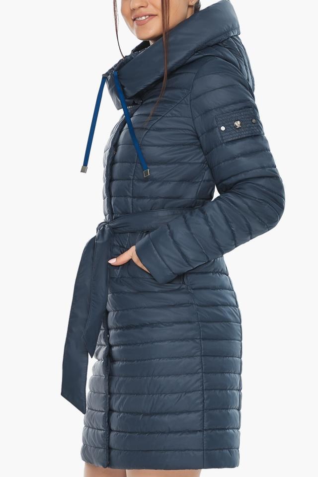 """Практичная куртка женская синяя модель 66870 Braggart """"Angel's Fluff"""" фото 9"""