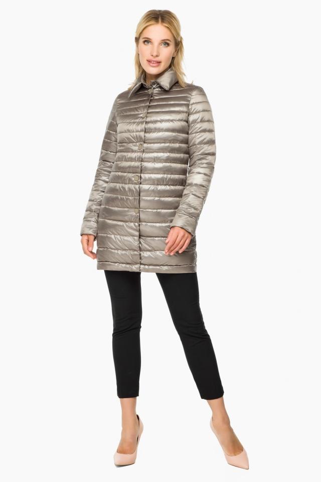 """Кварцевая куртка осенне-весенняя женская модель 41323 Braggart """"Angel's Fluff"""" фото 4"""