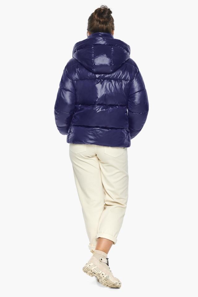 """Куртка с капюшоном женская синяя модель 44210 Braggart """"Angel's Fluff"""" фото 8"""