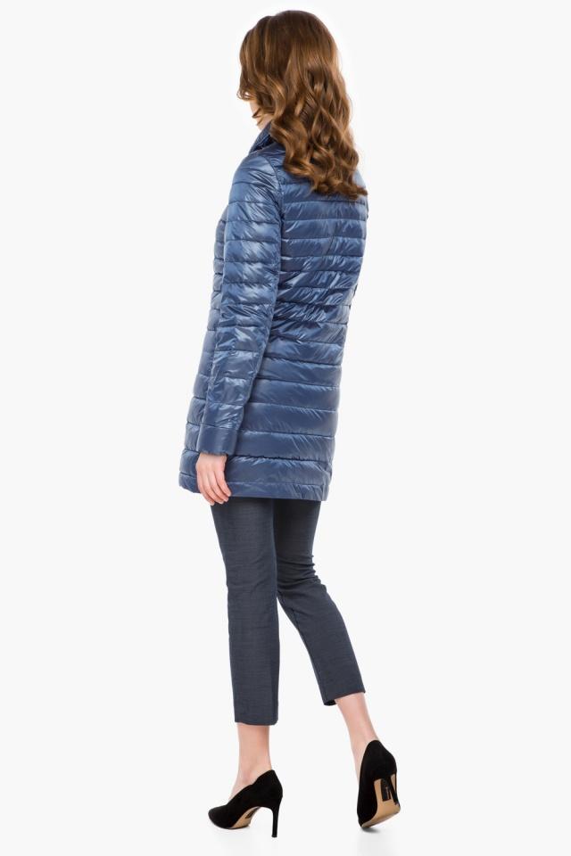 """Куртка с потайными карманами осенне-весенняя женская цвет ниагара модель 41323 Braggart """"Angel's Fluff"""" фото 5"""