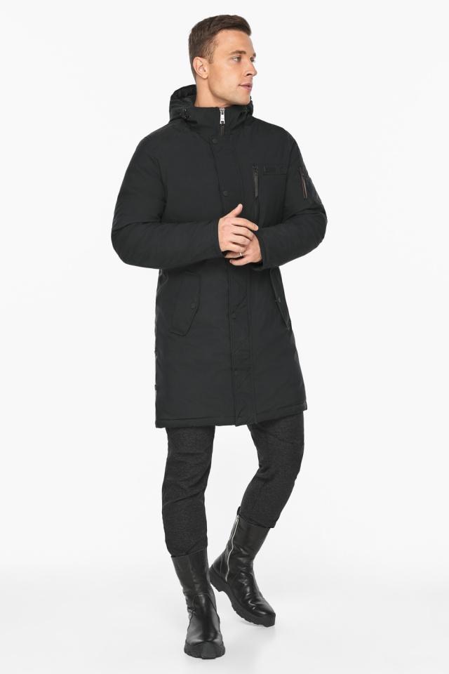 """Куртка – воздуховик зимний мужской черный модель 38012 Braggart """"Angel's Fluff Man"""" фото 5"""